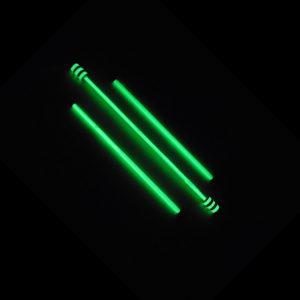 Fluoreszkálós világító ördögbot